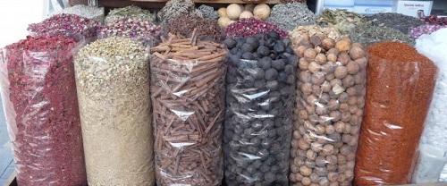 Souk aux épices à Dubai