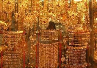 Souk à l'or à Dubai