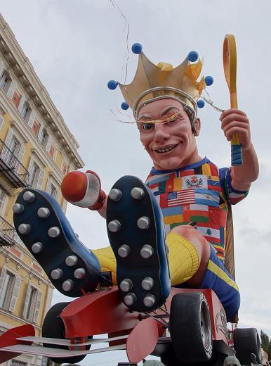 Le roi 2012 du carnaval de Nice