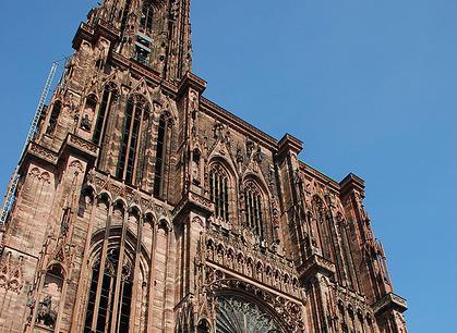 La majestueuse cathédrale de Strasbourg
