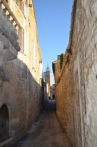 Une ruelle de Ménerbes