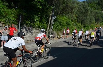 Ironman 2012 dans la montée de Gourdon