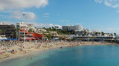 Plage à Costa Adeje à Tenerife