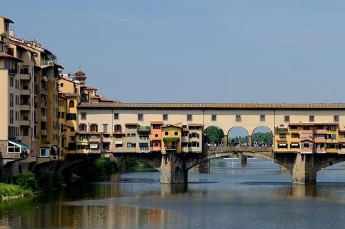 """Le pont """"Ponte Vecchio"""" à Florence"""