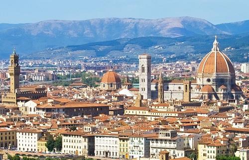 Vue sur les toits de Florence
