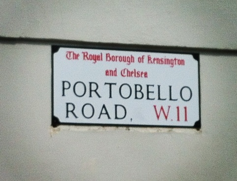 Portobello road: un quartier d'antiquaire